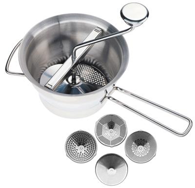 Küchenprofis city chef kitchenware kuchenprofi vegetable seive and food mill